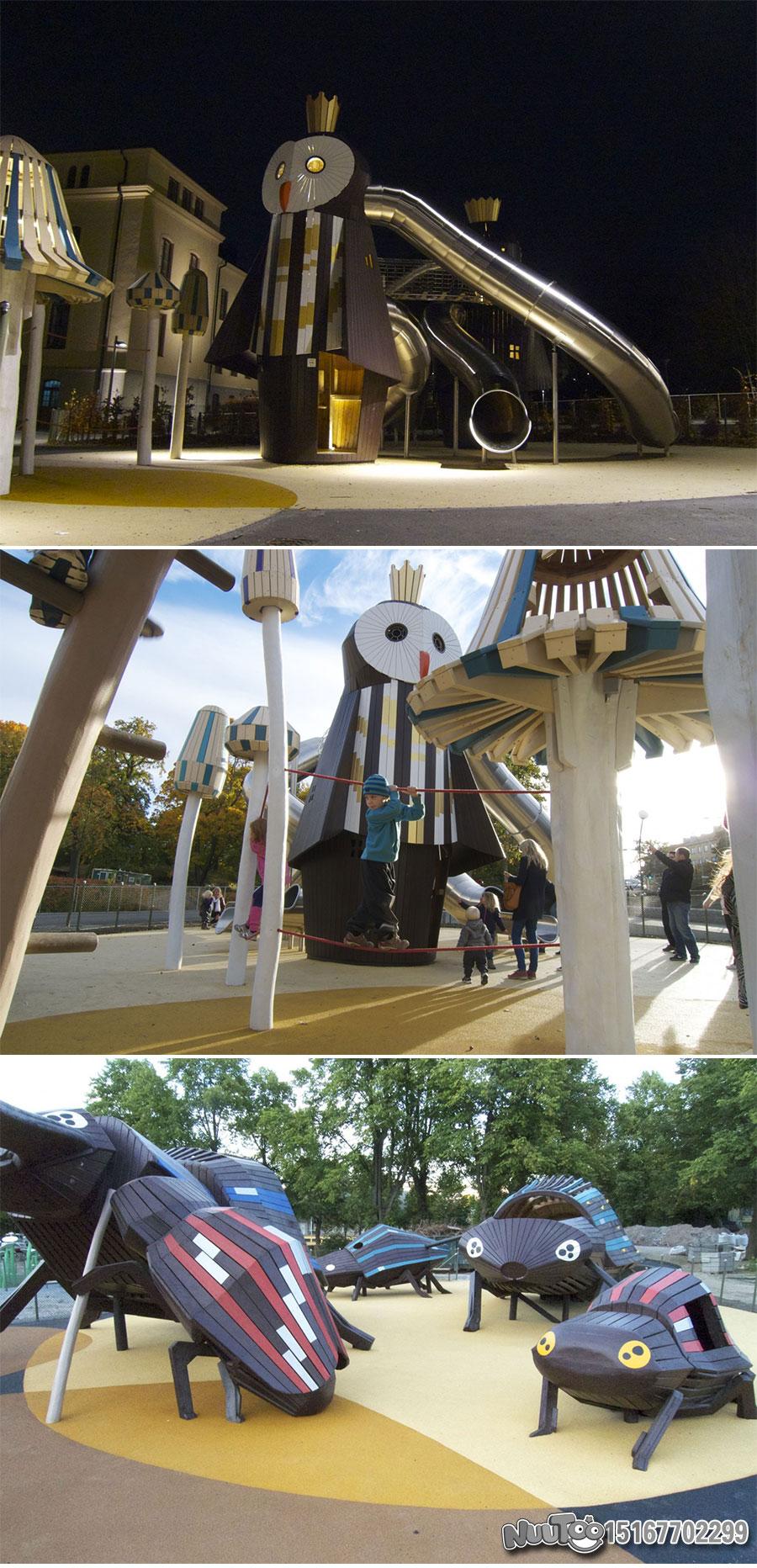 Non-standard amusement + personalized playground + amusement equipment + rides + outdoor children's play facilities _05