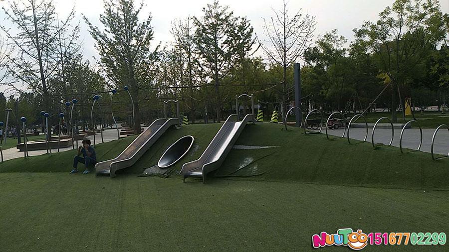 Walnut Paradise + Non-standard Amusement + Combination Slide + Amusement Equipment - (21)