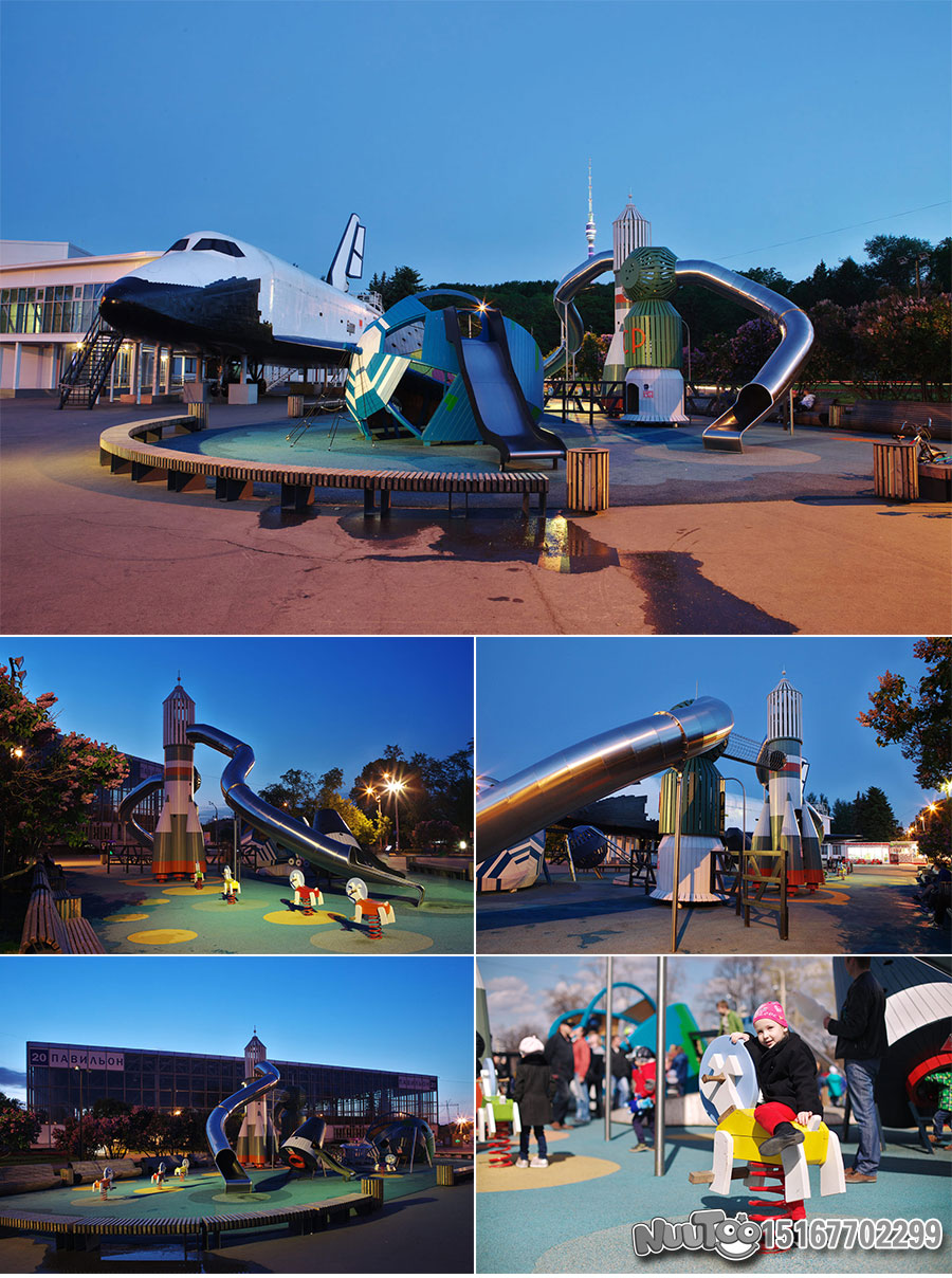 Non-standard amusement + personalized playground + amusement equipment + rides + outdoor children's play facilities _16