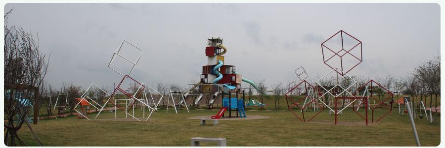 Hongshan Sports Park + non-standard amusement project + combination slide _01