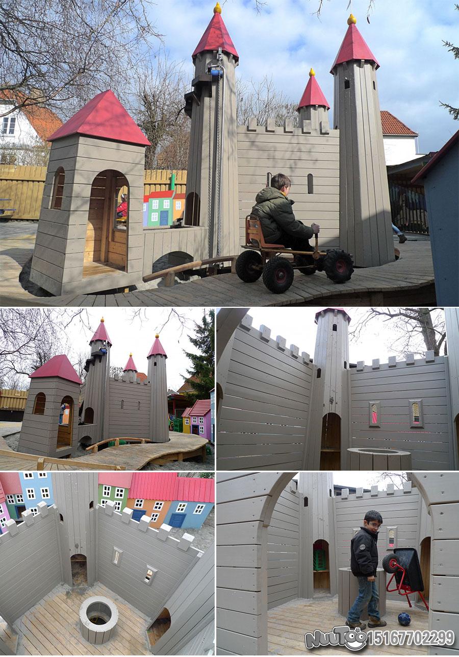 Non-standard amusement + personalized playground + amusement equipment + rides + outdoor children's play facilities _18