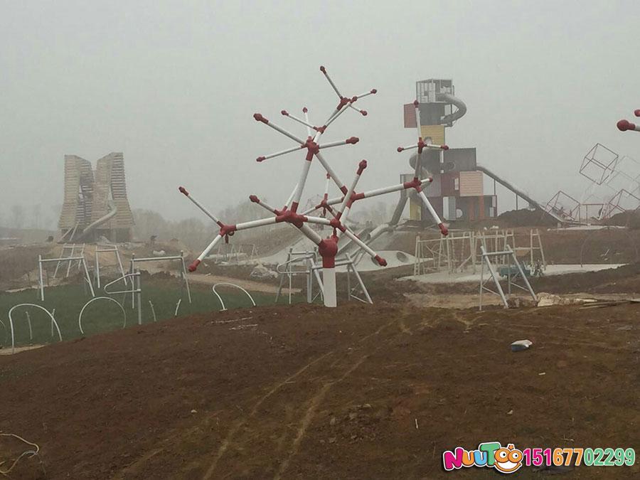 Non-standard amusement + Hongshan Sports Park construction + children's playground (10)