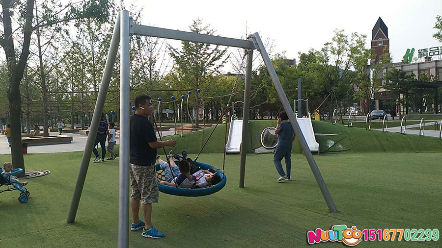 Walnut Paradise + non-standard amusement + combination slide + amusement equipment - (23)