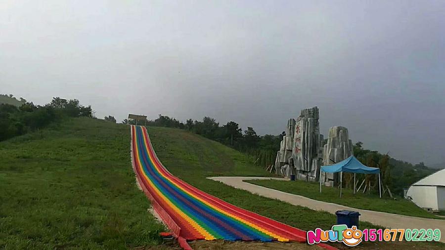 Colorful slides + colorful slides + dry snow slide + leap slide - (41)